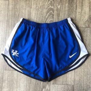 Nike UK Logo Blue Running Shorts